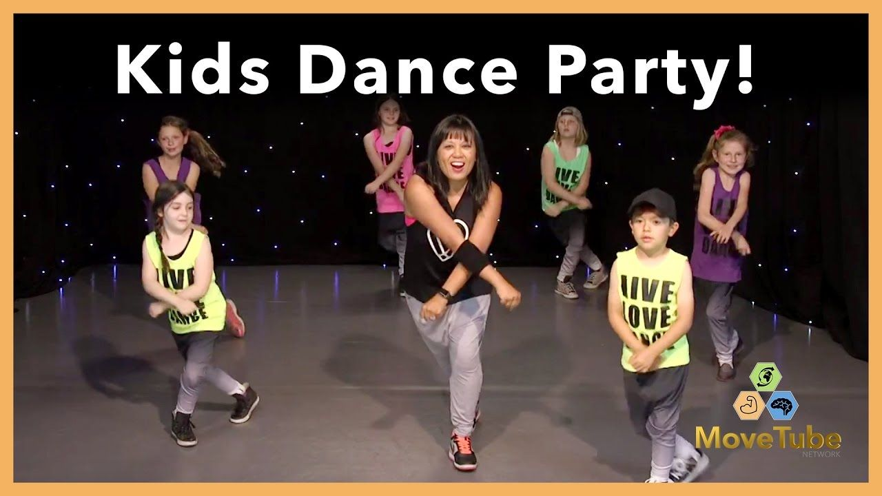 Kids learn a dance to cant stop the feeling by justin