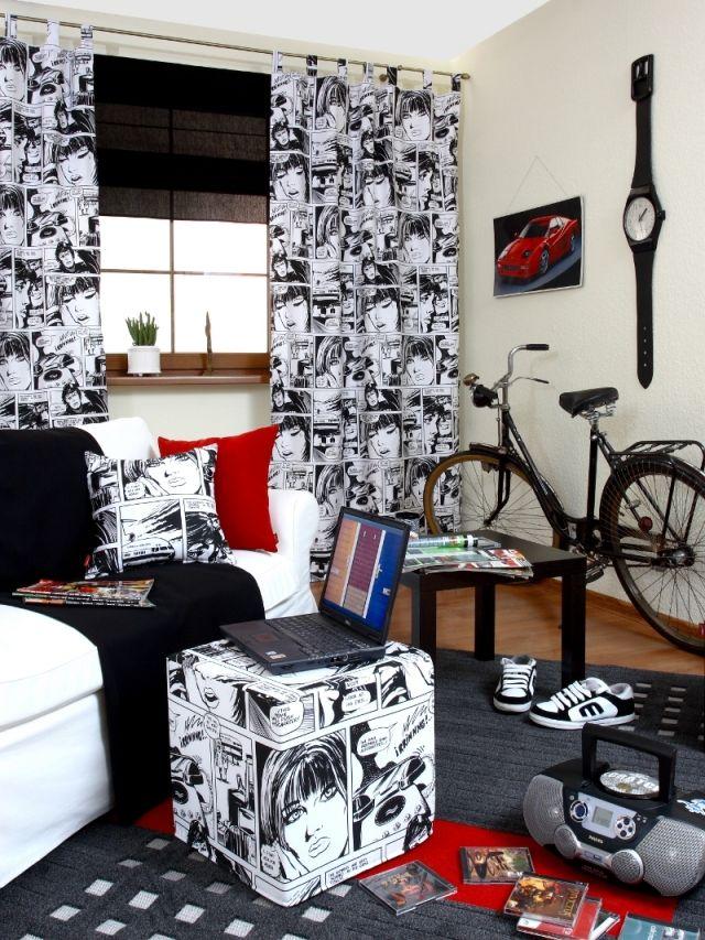 """30 Jugendzimmer Ideen - Dekorationen für """"coole"""" Teenager"""