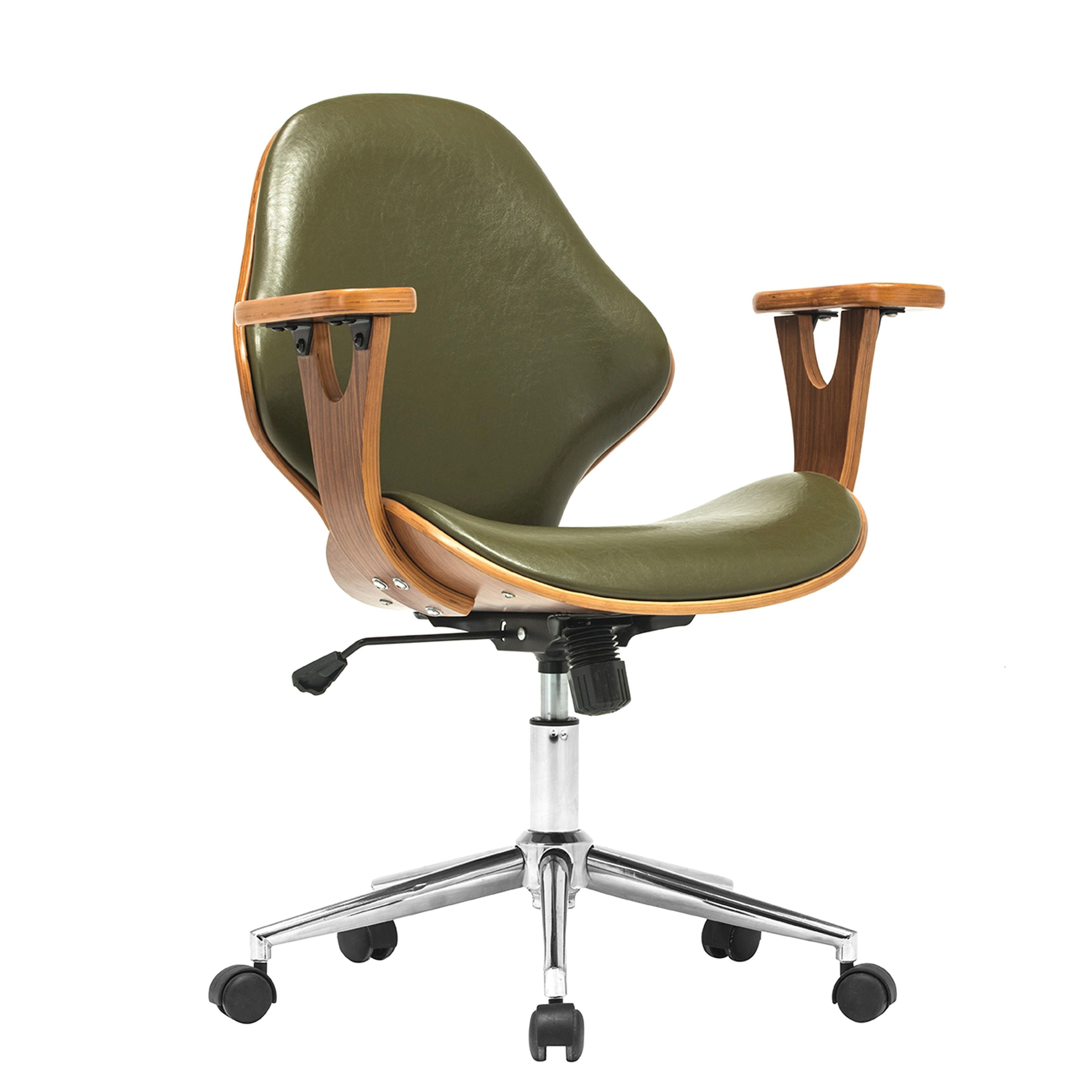 Lillian adjustable office chair green