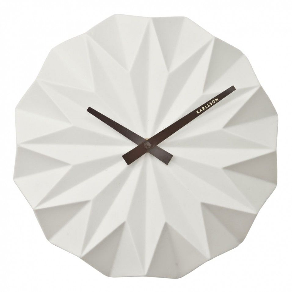 Karlsson Origami Wall Clock Home Accessories Home