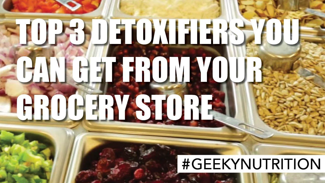TOP 3 DETOXIFIERS YOU CAN GET FROM YOUR GROCERY STORE