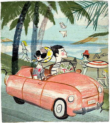 Sunday Times Travel by ilustrista, via Flickr - Luciano Lozano's Art