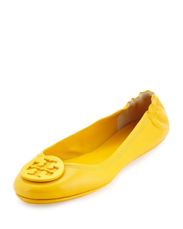 Las Labores De Saneamiento En Línea Oficial Tory Burch ballerina flats - Yellow & Orange Comprar Barato Para El Buen Barato Venta Nuevo Donde Comprar Gran Sorpresa El Precio Barato wcosDypQ