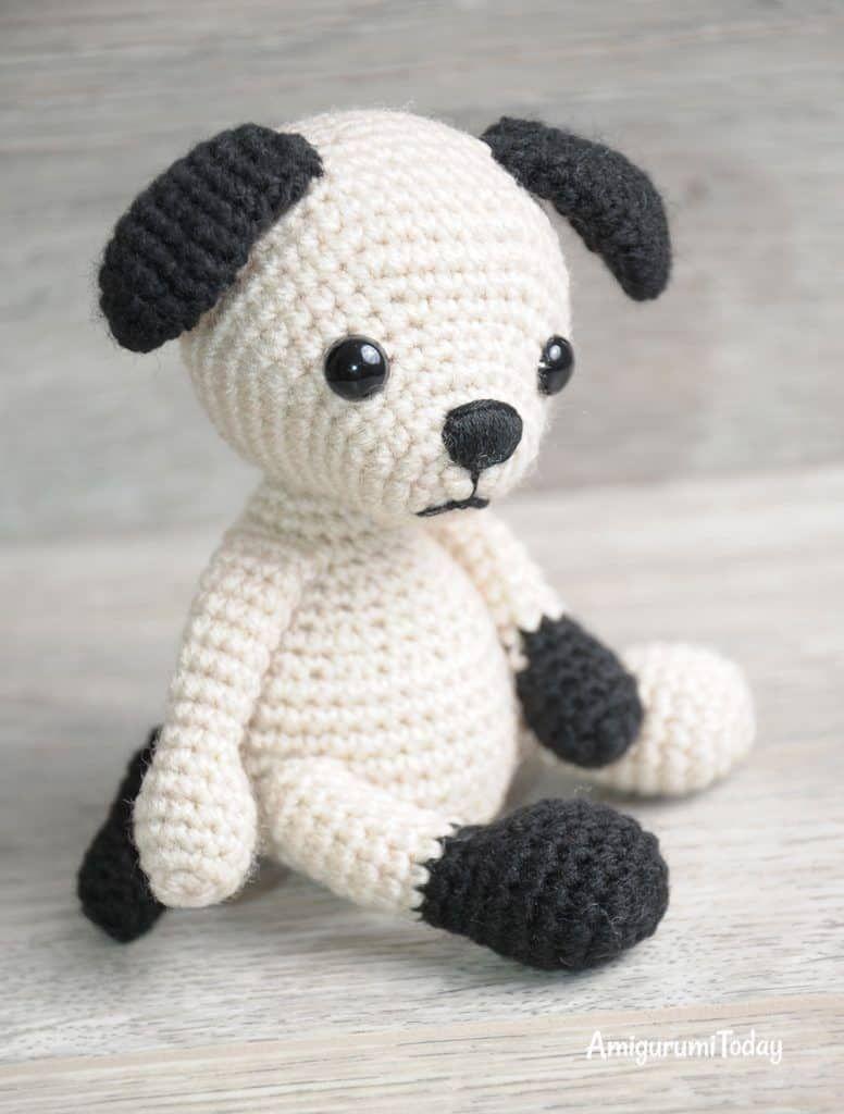 Amigurumi Tommy the Dog crochet pattern | amigurumi | Pinterest ...