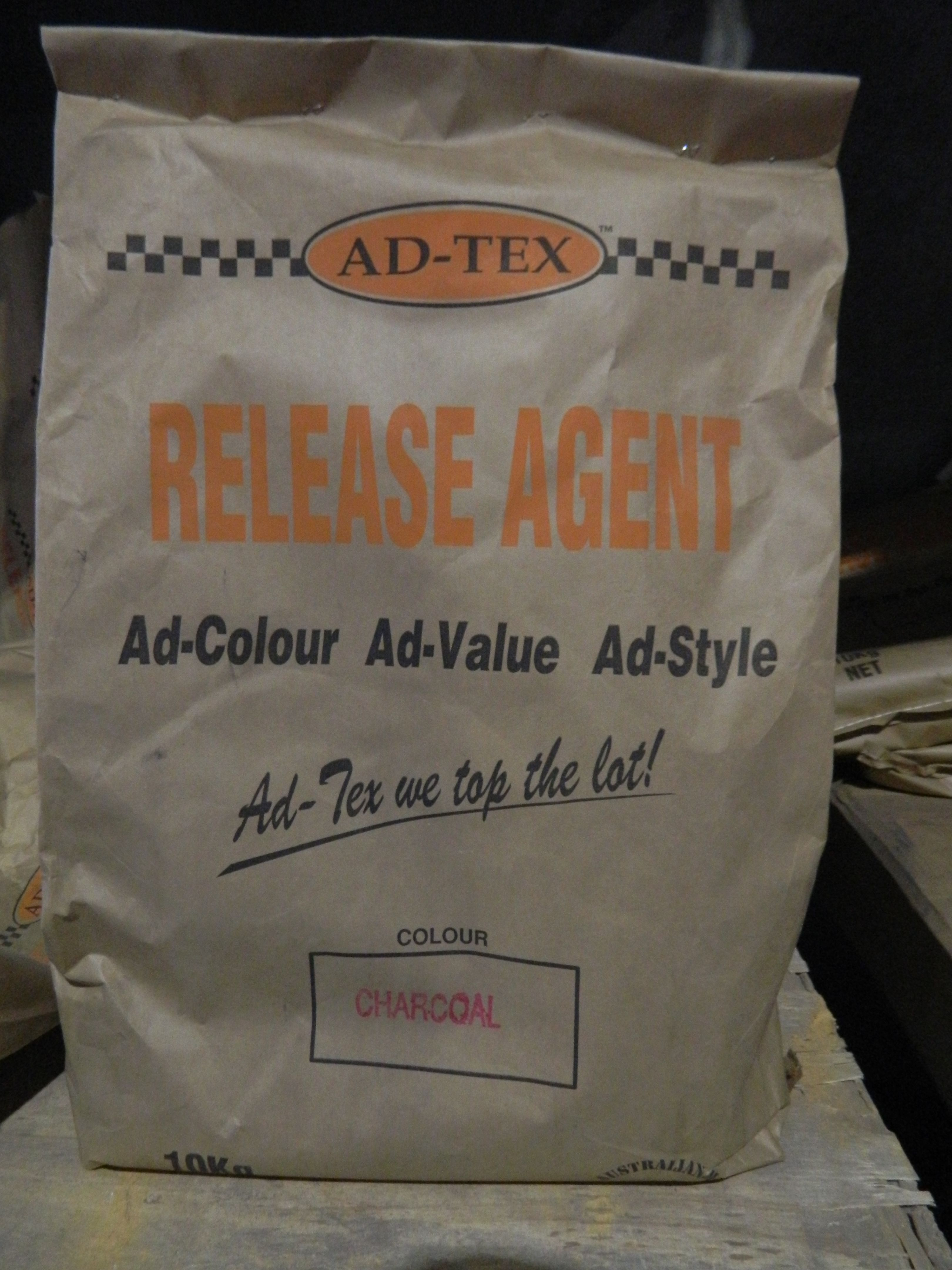 Ad-Tex Powder Release Agent is used to enhance the colour