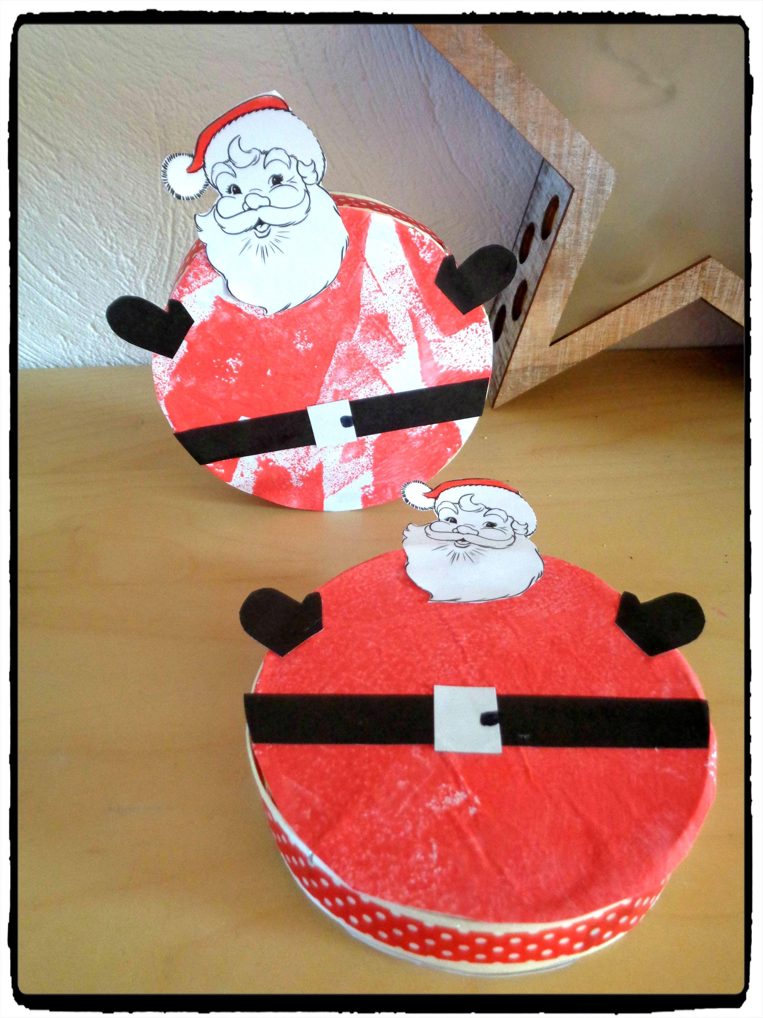 La Boîte Du Père Noël Activités Manuelles Pour Enfants