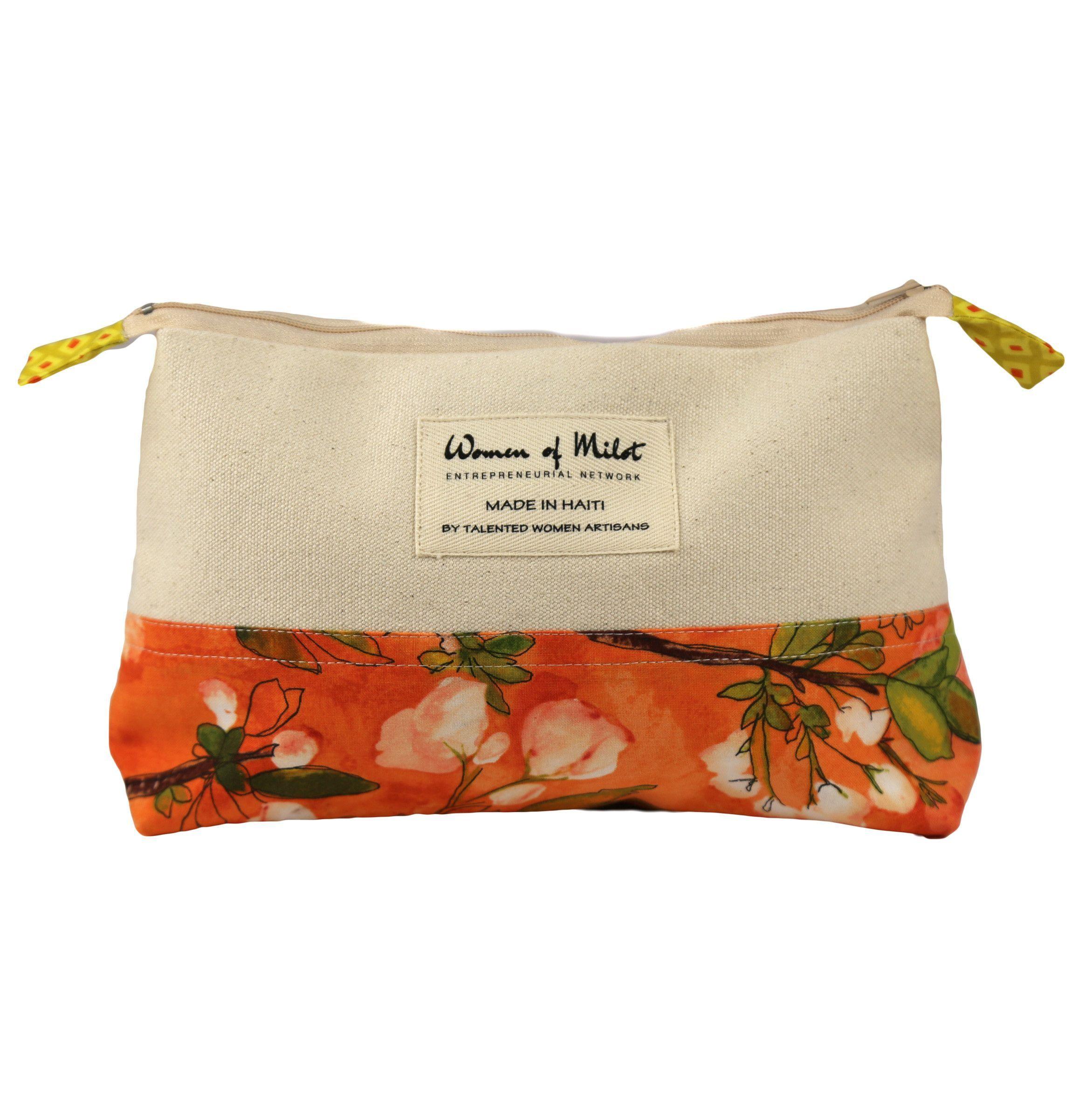 Orange Blossom Make-Up Bag - Haiti
