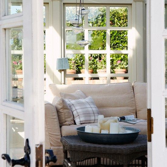 Small conservatory Dream Home Pinterest Conservatories House