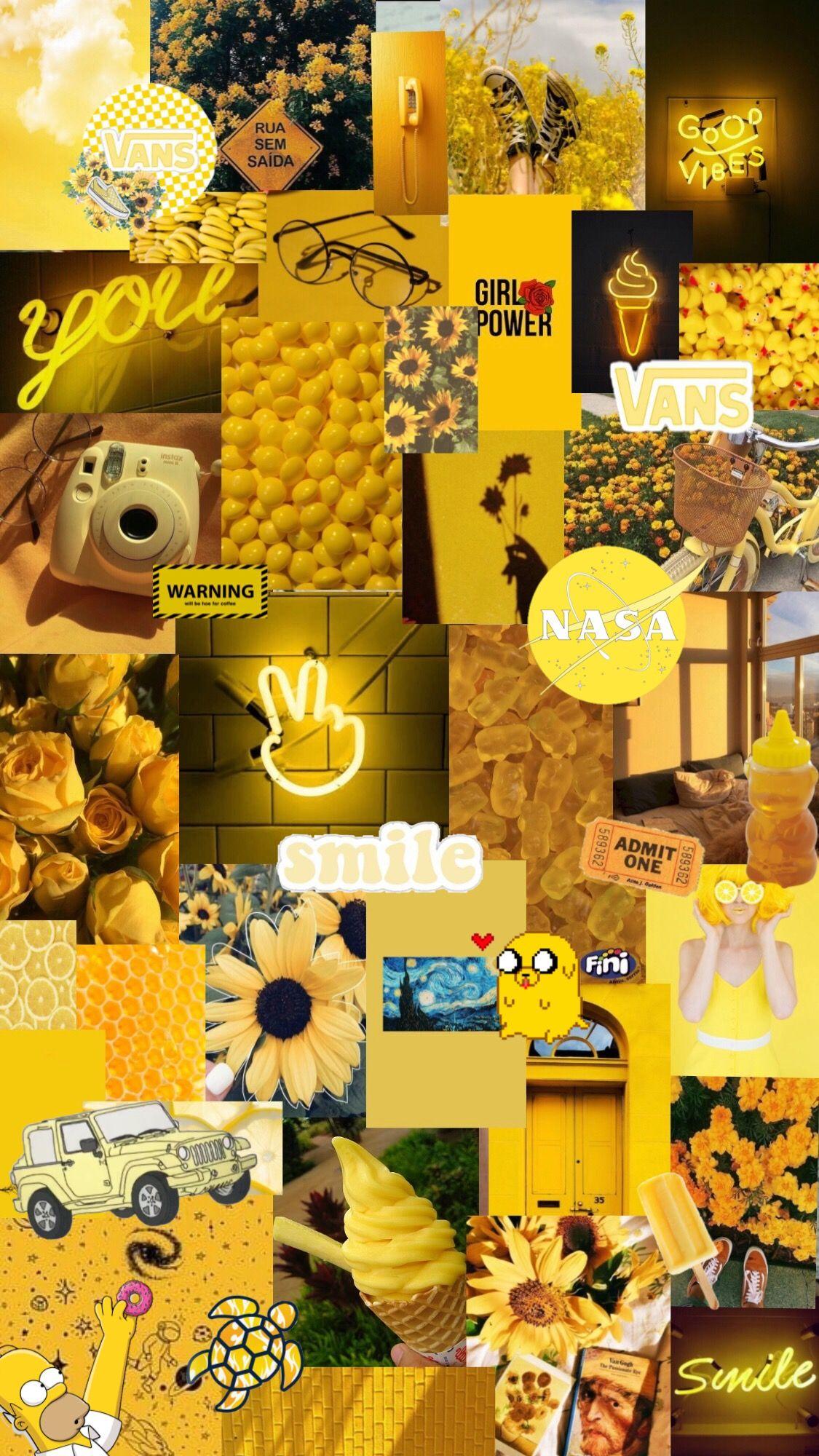 Yellow Wallpaper Aesthetics Yellow Wallpaper Wallpaper Aesthetic Wallpapers