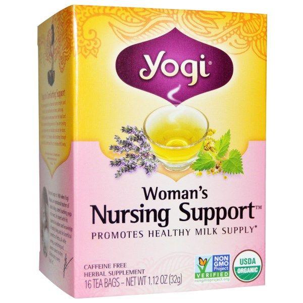 Yogi tea womans nursing support caffeine free 16 tea bags yogi tea womans nursing support caffeine free 16 tea bags 112 oz 32 g malvernweather Images