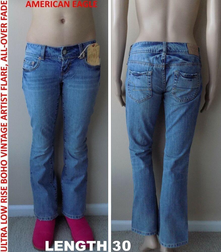 rock-bottom price top fashion professional sale NWT American Eagle: Ultra Low Rise Boho Vintage Artist Flare ...