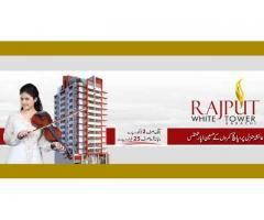Payment Schedule Of Rajput White Tower Karachi Apartments On Installments