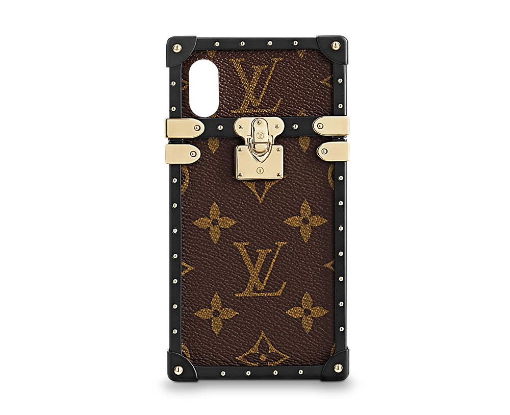 Louis Vuitton S Coveted Iphone Case Now Available For Iphone X Louis Vuitton Phone Case Louis Vuitton Iphone Wallet Case