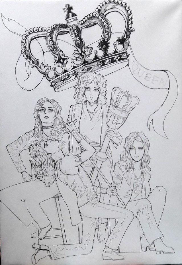 Imágenes Queen - Dibujos zukhulentoz (part 2)