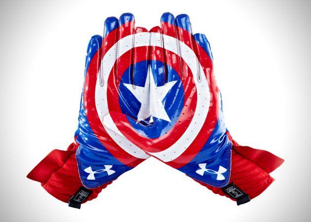 Under Armour captain america gloves