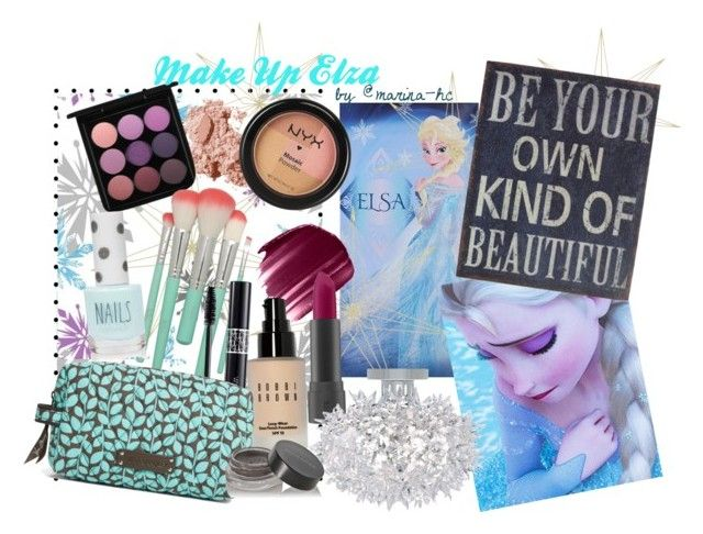"""Elsa (Make Up)"" by marina-hc ❤ liked on Polyvore featuring beauty, Disney, Urban Decay, Bobbi Brown Cosmetics, Bite, MAC Cosmetics, Christian Dior, Universal Lighting and Decor, NYX and Topshop"