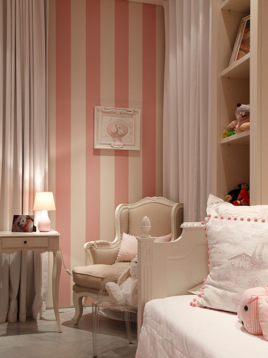 Best Casa Forma Portfolio Of Properties Pink Striped Walls 400 x 300