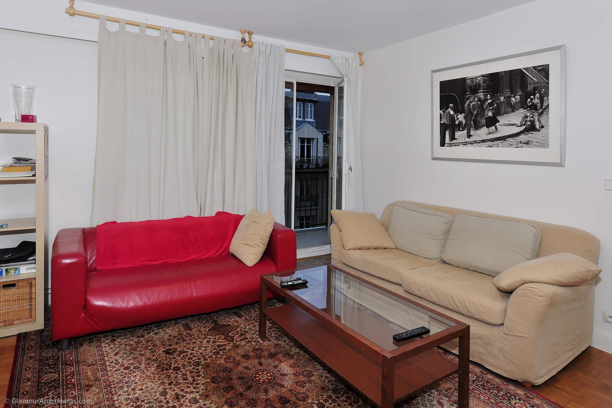 1 Bedroom Furnished Apartment For Rent On Rue Mirabeau In The 16th  Arrondissement Of Paris