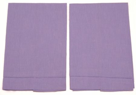 6 Light Violet Guest Towels