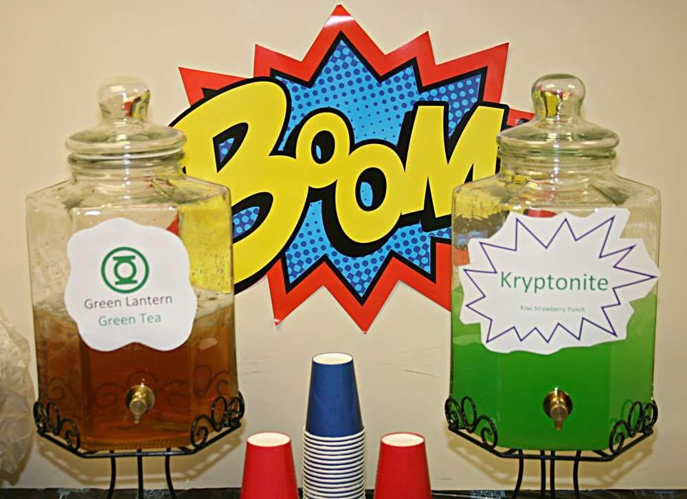 superhero teachers office party party ideas