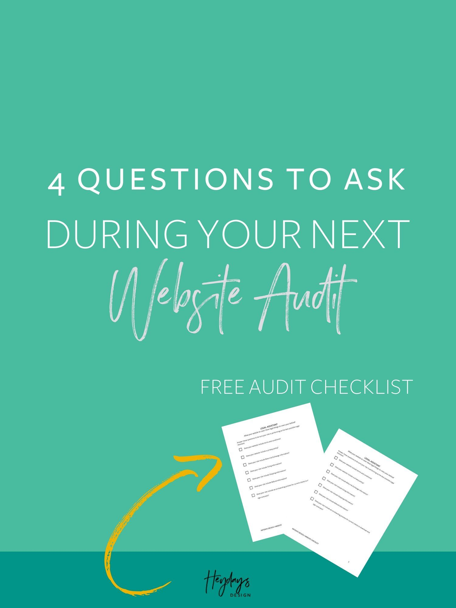 Website Audit L Download A Website Audit Checklist To Use When You
