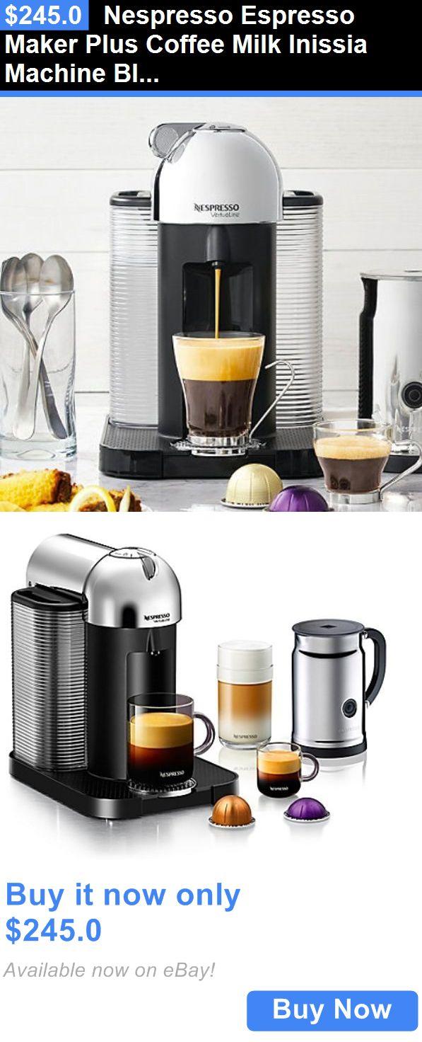 Small Kitchen Appliances Nespresso Espresso Maker Plus