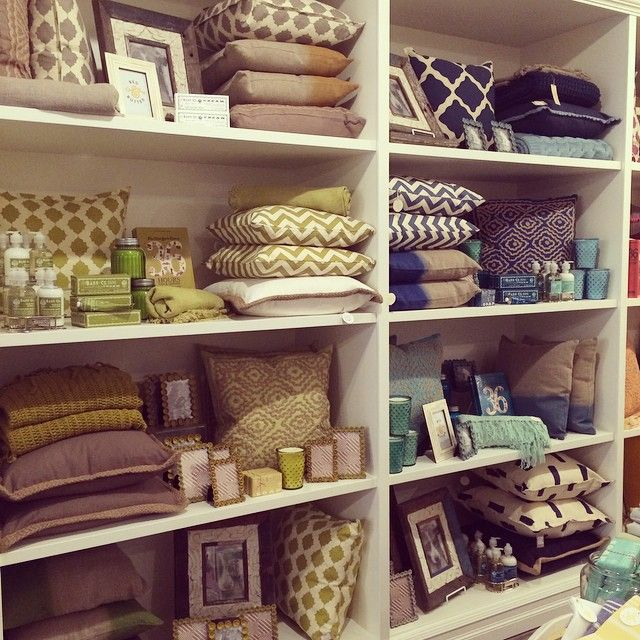 colorblocked home goods