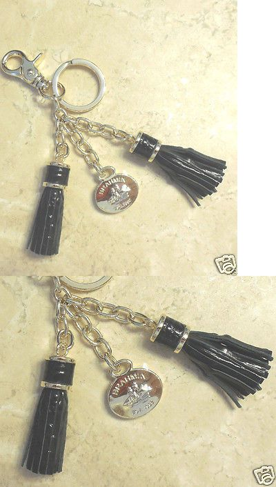 5bda70c71e Key Chains Rings and Finders 45237  Brahmin Tassel Keychain Key Ring Fob  Charm Black Croc Leather Melbourne Nwo -  BUY IT NOW ONLY   36 on eBay!