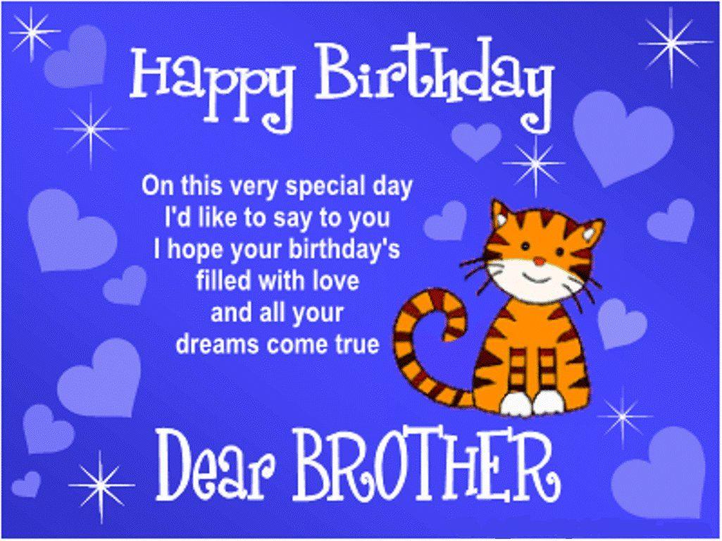 Happy Birthday Brother Quotes Happy Birthday Bro Happy Birthday