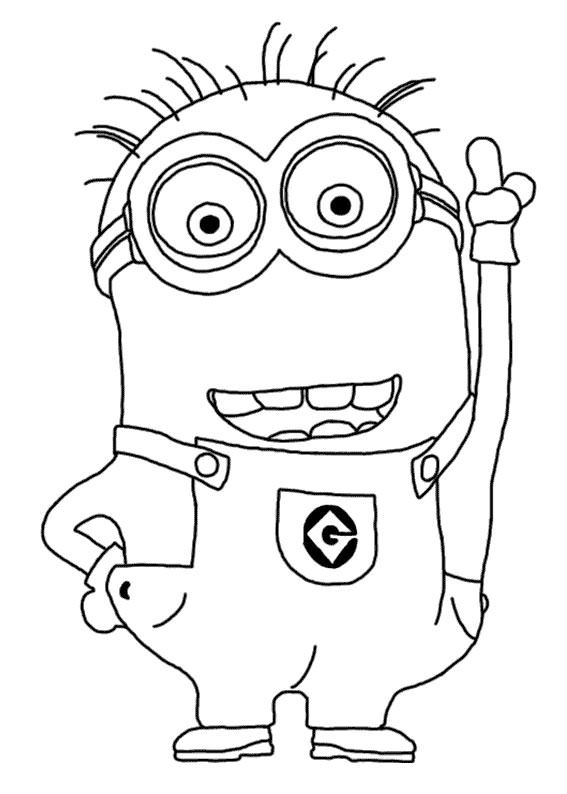 30 Disegni Dei Minions Da Colorare Carnevale Coloring Pages For