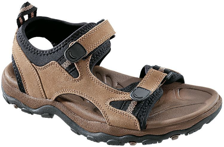 RedHead Finley River Sandals for Ladies Taupe/Black