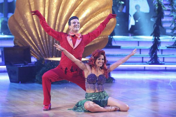 Mark Ballas Candace Cameron Bure Dance To The Little Mermaid Dancing With The Stars Week Dancing With The Stars Candace Cameron Bure Candace Cameron