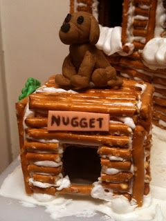 I work for Norton Sound Health Corporation who was putting on a competition for departments to build a gingerbreadish structure as a departm...