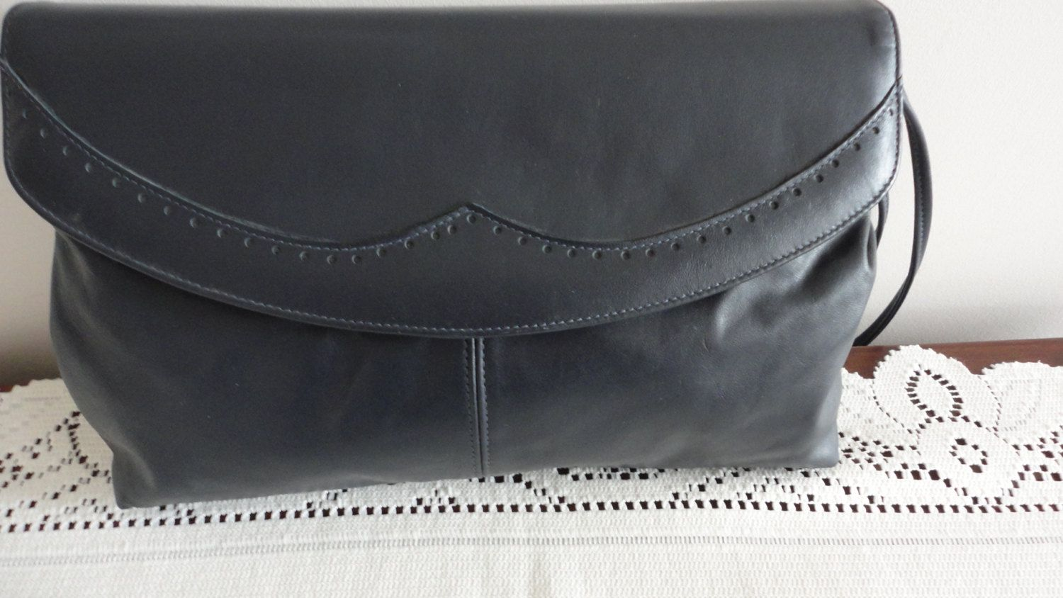 70s Navy Soft Leather Handbag Purse Mastercraft For Naturalizer Made In Canada By Loukiesworld On Etsy