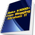 http://fricanweb.com   $3000 blogging Ecover by Abraham IT