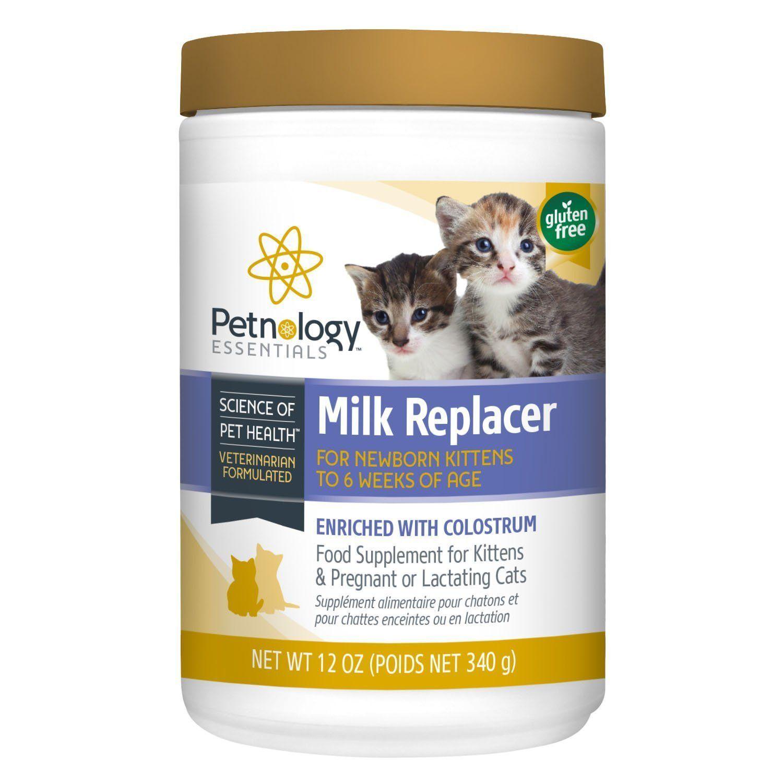 Petnology Kitten Milk Replacer Powder With Images Newborn Kittens Cat Health Cat Supplement