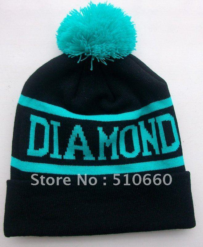388fa0b5452 10pcs lot DIAMOND SUPPLY CO BEANIE HATS 2 Colors on AliExpress.com.  70.00
