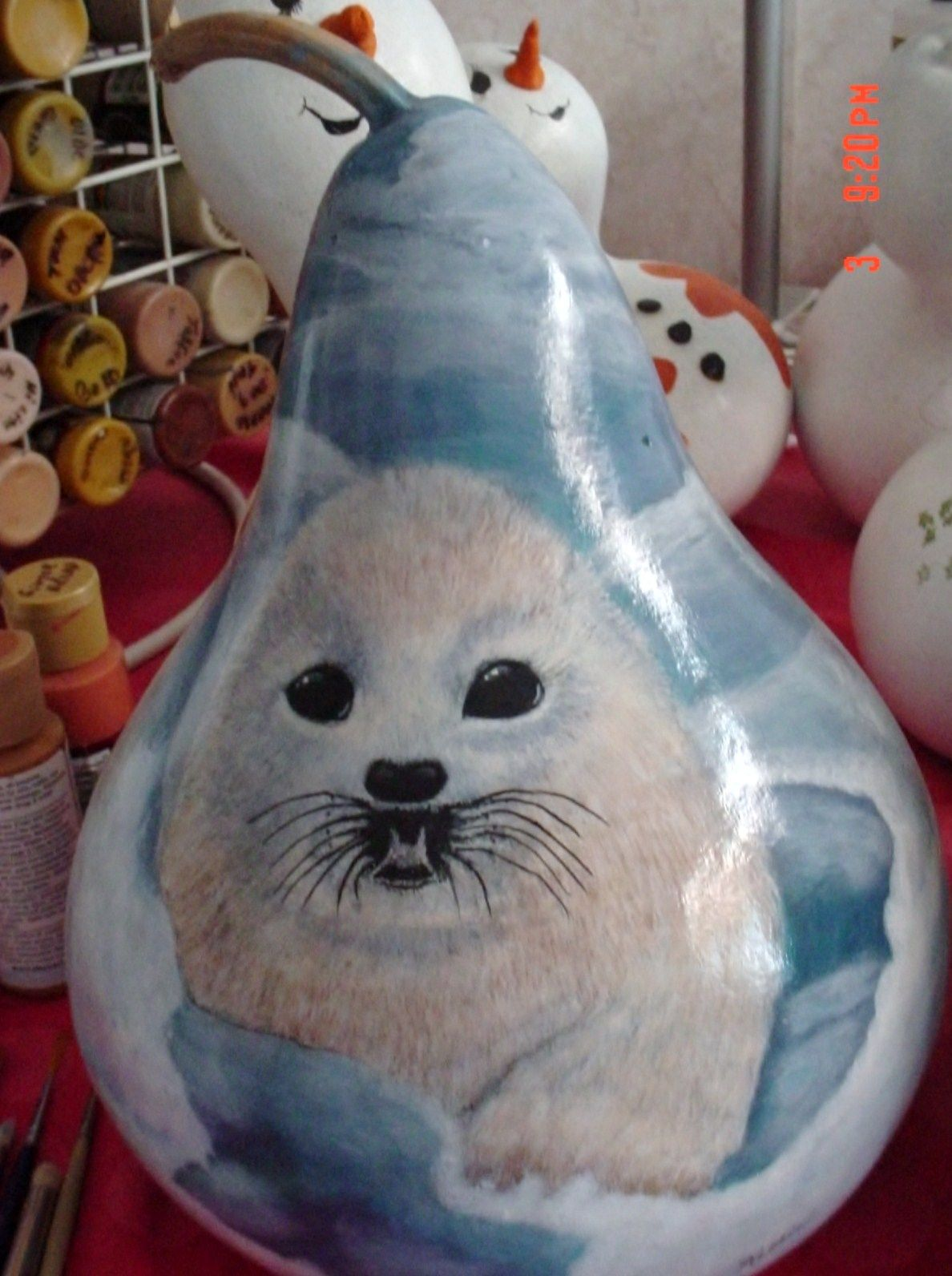 Hand Painted Gourd