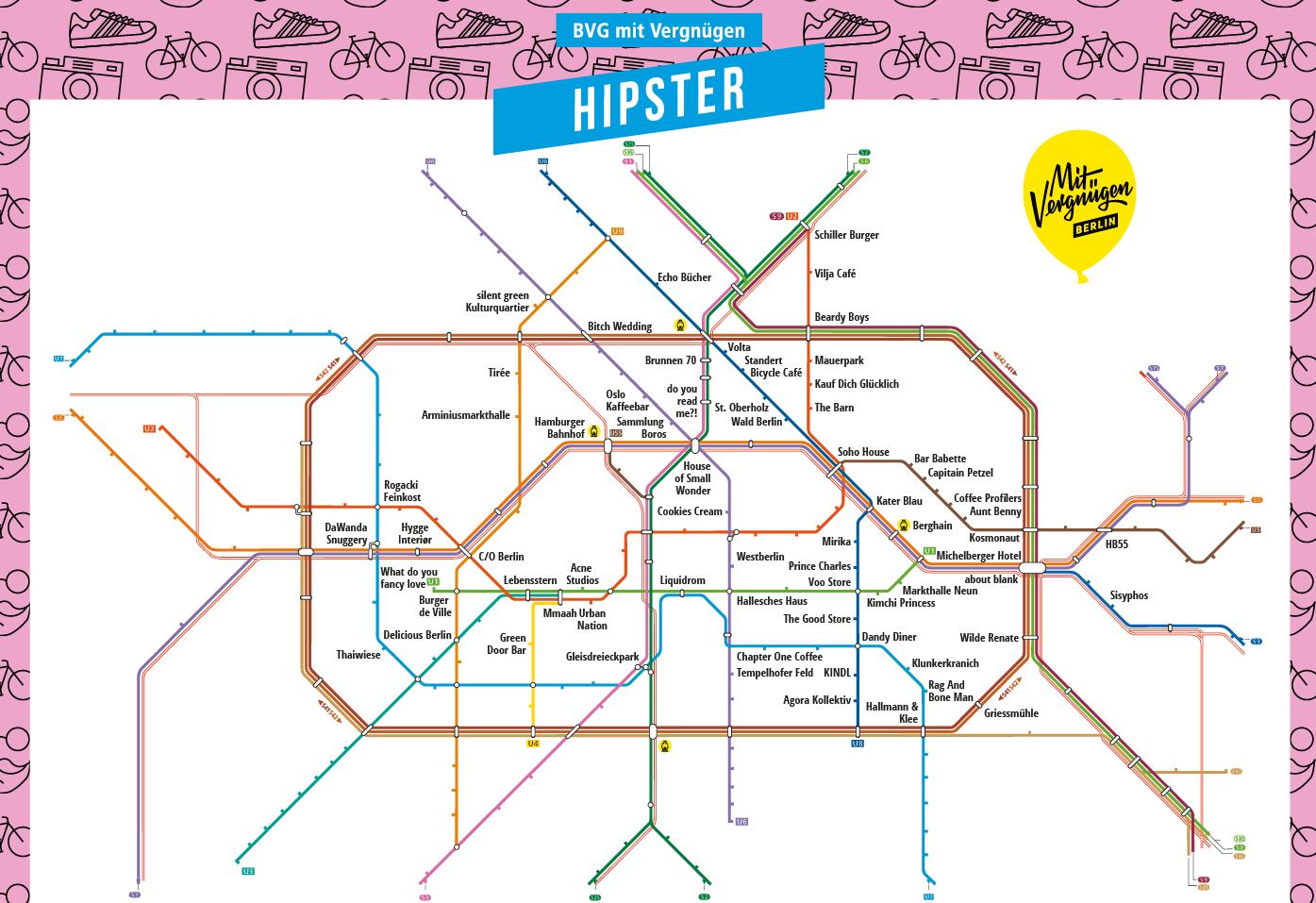 Mit Der Bahn Zu Den Hippsten Orten In Berlin Bus Und Bahn Berlin Tipps Feiern In Berlin