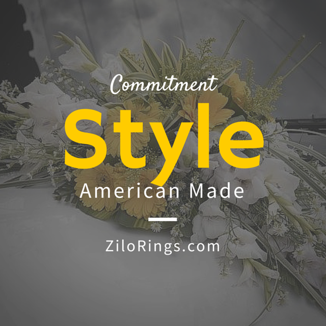 Zilo Rings is Commitment, Style, American Made and American Proud. #mens #wedding #rings #jewelry #marriage #bride #groom