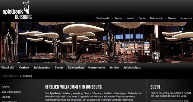 Permanenzen Spielbank Duisburg