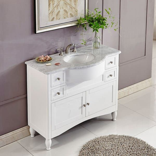 Silkroad Exclusive Inch Contemporary Bathroom Vanity Single Sink - Silkroad bathroom vanities