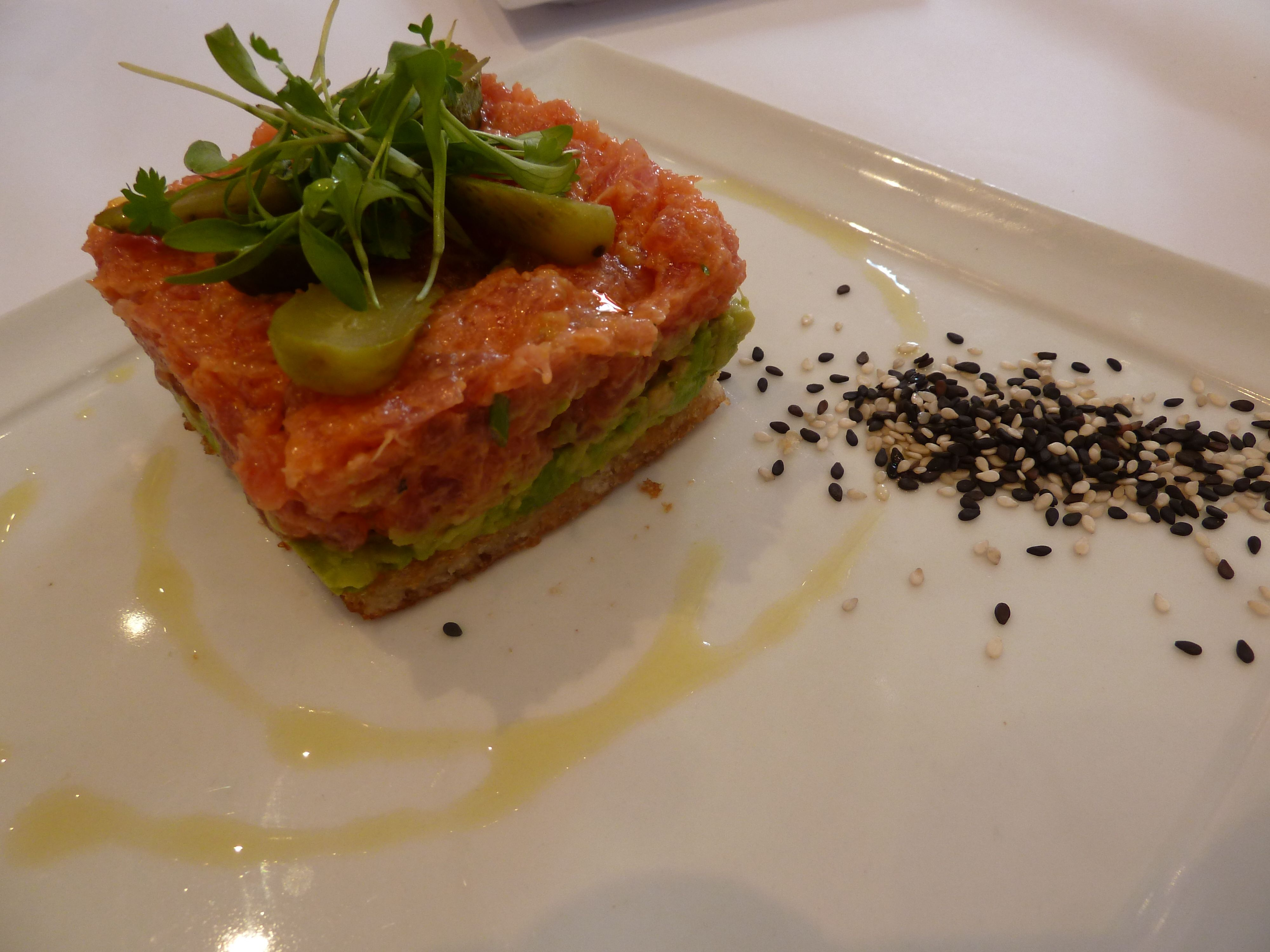 Spicy Tuna Tartar by Alessandro Arrieta (208 Rodeo - Beverly Hills)