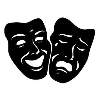 Mascara De Teatro Mascaras Teatro Dibujos Teatro