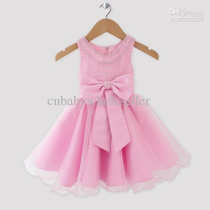 2017 New Fashion Baby Girls Princess Dress Toddler Kids