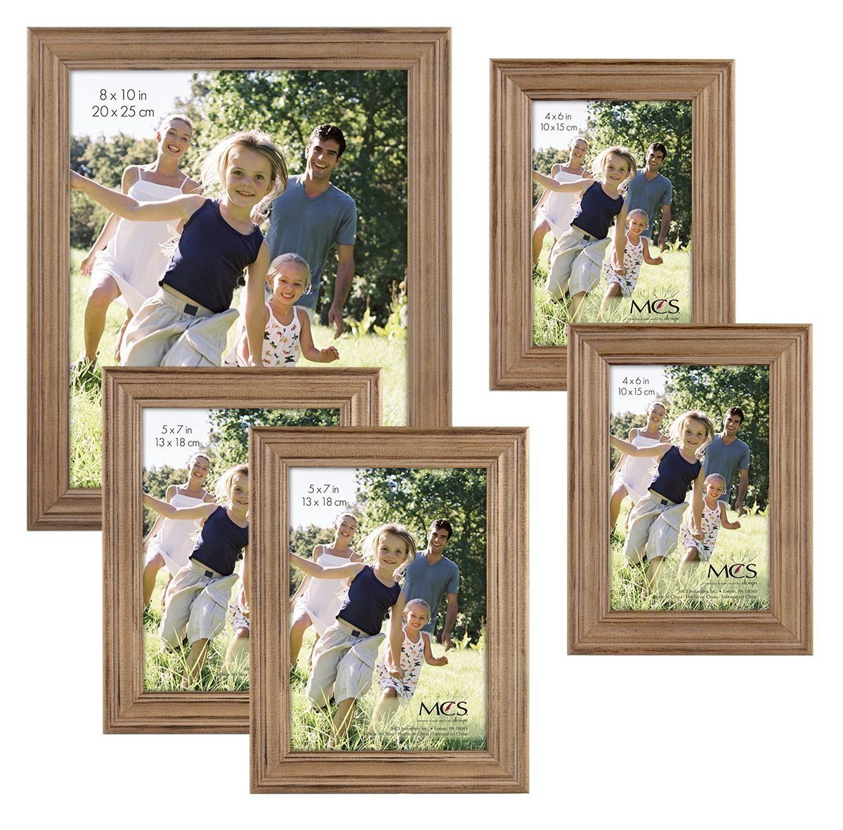 MCS 5 Piece Rustic Wood Frame Set -- You can find more details by ...