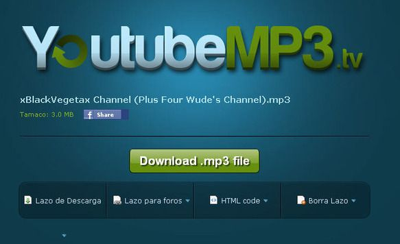 Descargar El Audio De Un Video De Youtube Online Youtubemp3