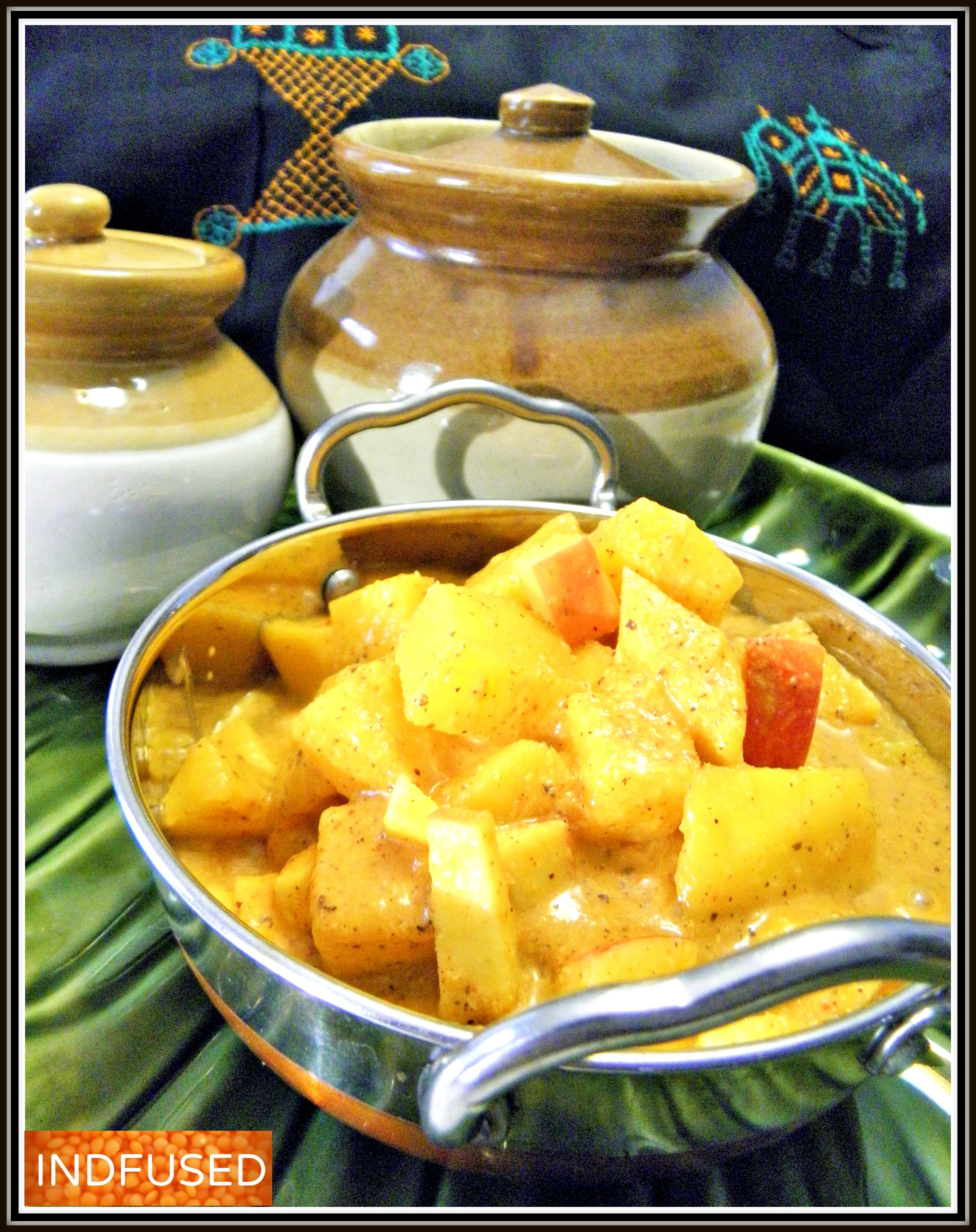 Pineapple and mango sasav an heirloom recipe recipes indian indian food recipes forumfinder Image collections