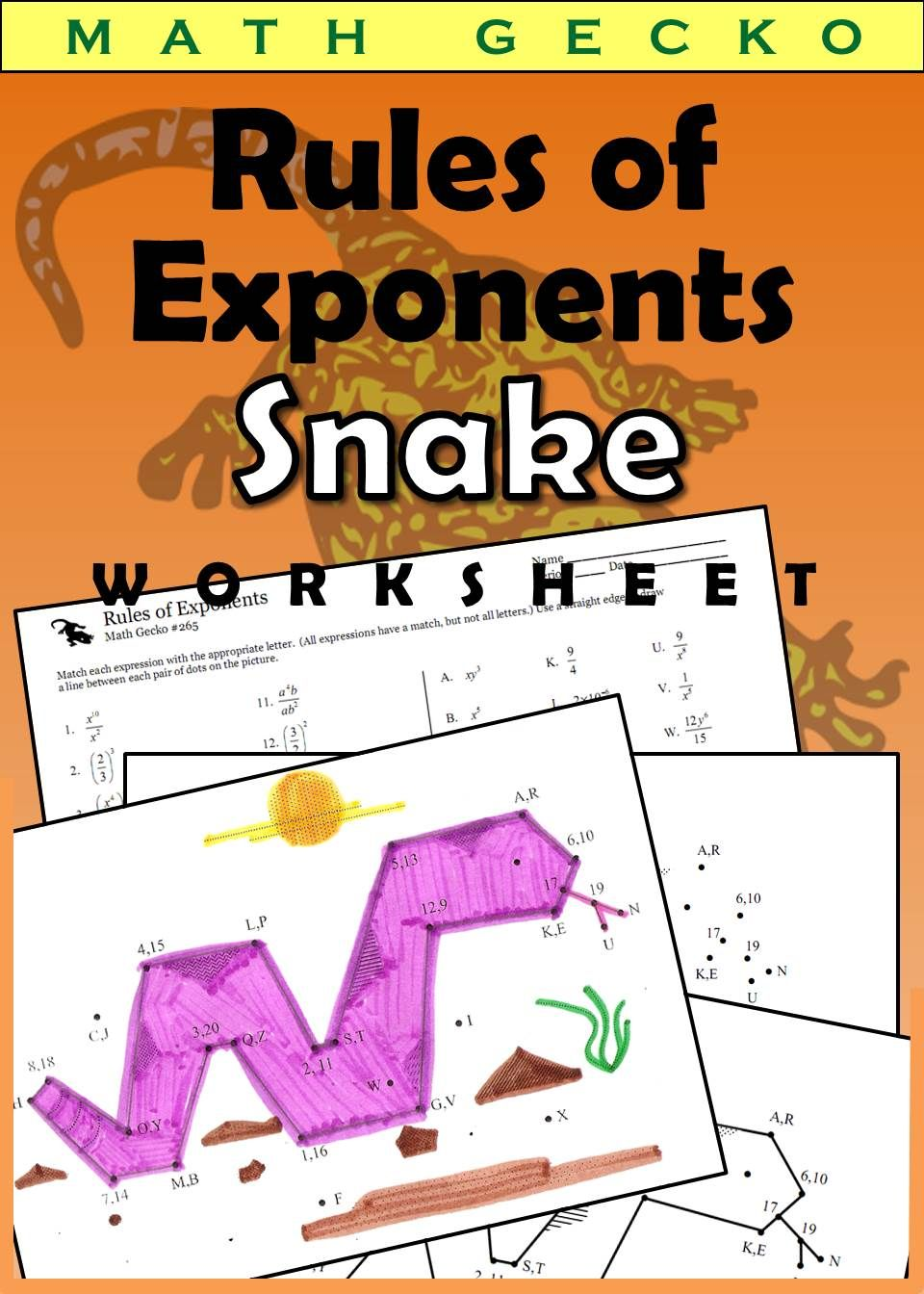 Rules Of Exponents Iii Picture Snake Math Expressions Simplifying Algebraic Expressions Algebraic Expressions [ 1344 x 960 Pixel ]