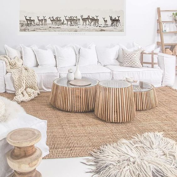 :: Start Fresh With White Decor :: #coastallivingrooms